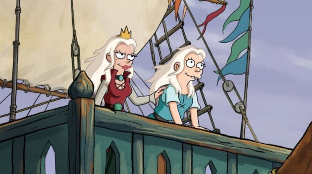 Disenchantment - Queen Dagmar and Bean