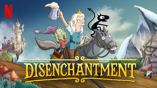 Disenchantment Season 1 Poster
